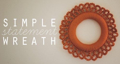crochet wreath diy