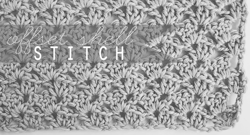 Crochet Offset Shell Stitch Goodknits A Knitting Crochet Blog