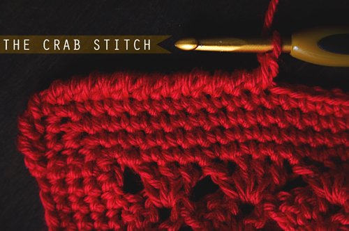 the crab stitch