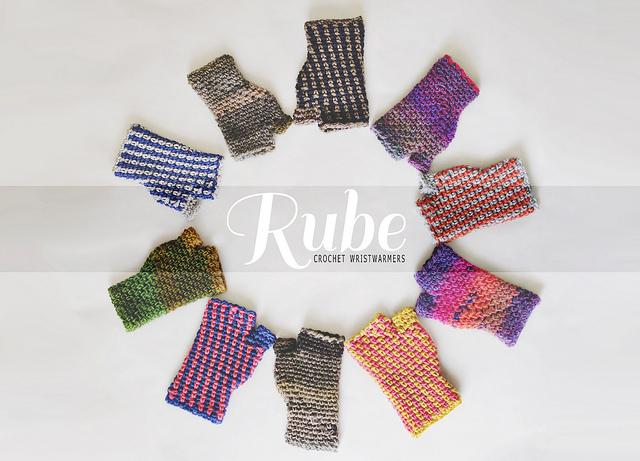 Crochet: Rube wristwarmers