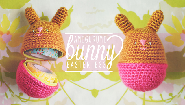 Amigurumi Easter Eggs Crochet Pattern : Amigurumi Bunny Egg GOODKNITS // a knitting & crochet blog