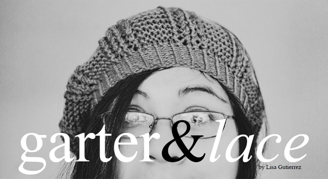 Knitting: garter & lace hat   GOODKNITS // a knitting & crochet blog