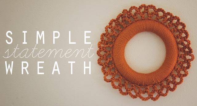 Crochet: Simple Statement Wreath
