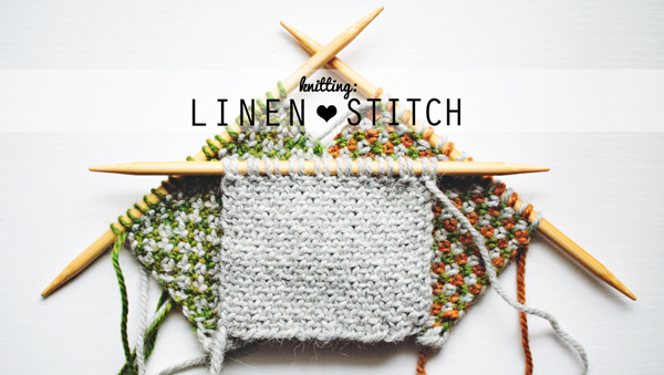 Linen Stitch Tutorial