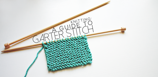 A guide to Garter Stitch on Craftsy