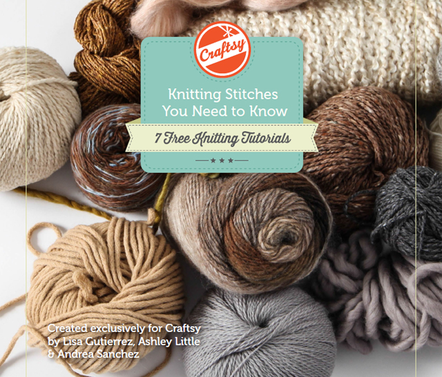 FREE Knitting Stitches bundle on Craftsy