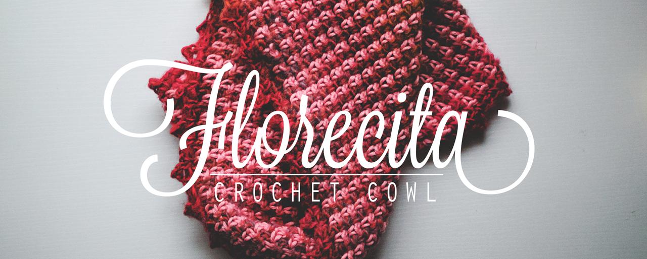 Crochet Pattern: Florecita woven stitch cowl
