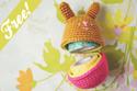 crochet amigurumi bunny egg
